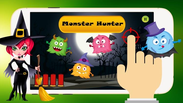 Halloween Monsters Hunter: Shooting Games For Kids