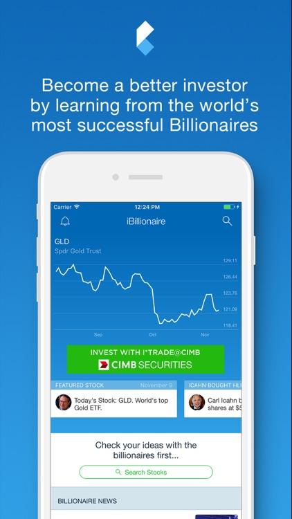 iBillionaire Malaysia screenshot-0