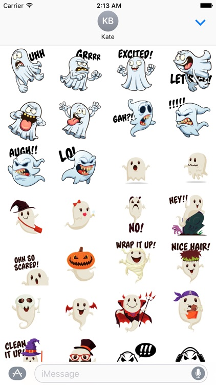 Ghost Stickers