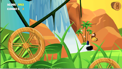 Amazon Jungle Monkey Gold Hunting-A Joy Ride Fun Screenshot on iOS