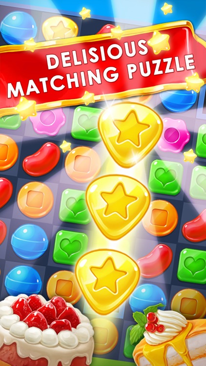 Panda Cookie - pop & smash jam Match 3 Games Free screenshot-1