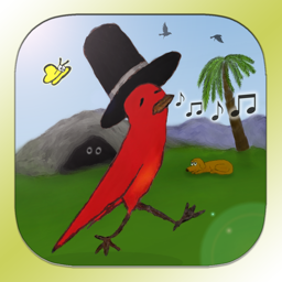 Ícone do app Striding Bird - An inspirational tale for kids