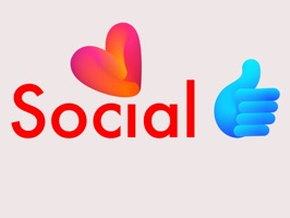 Social Sticker form message app