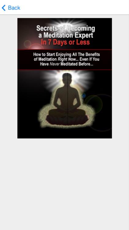 Meditation Tips - Learn How to Do Meditation screenshot-3