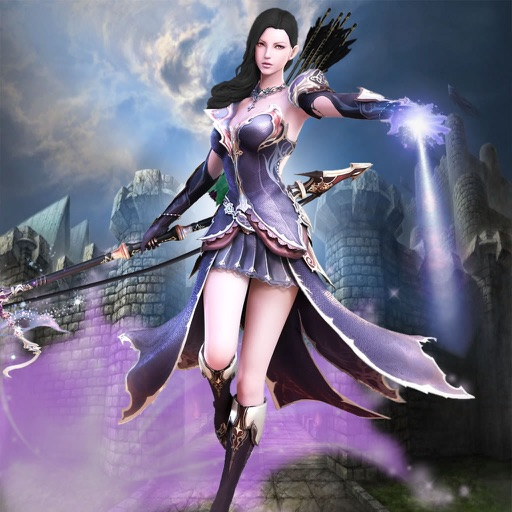 Arrow Purple Fantasy - Best Archery Tournament Game