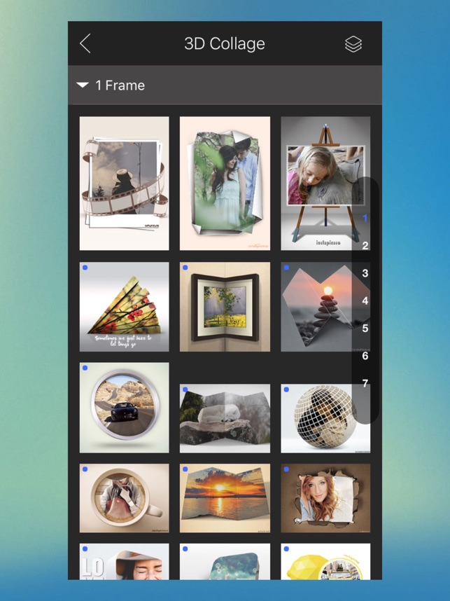 3d photo collage maker on the app store
