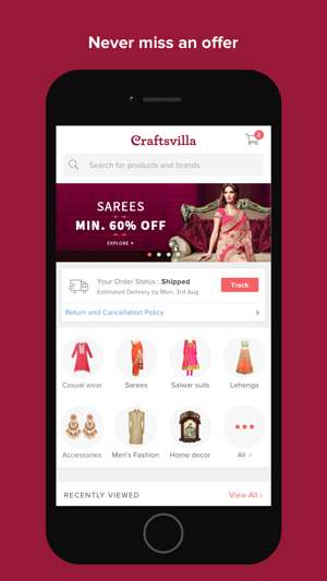 Craftsvilla Online Shopping On The App Store