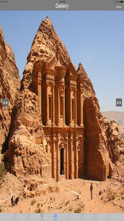 Petra Jordan Tourist Travel Guide