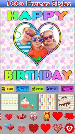 Happy Birthday Frames on the App Store