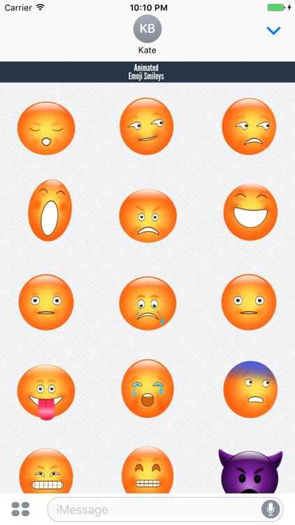 Animated Emoji Smileys screenshot-3