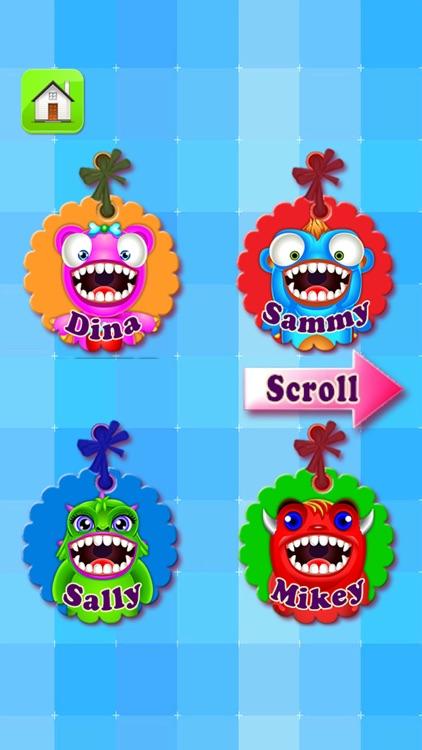 Monster Dentist Doctor Shave - Kid Games Free screenshot-4