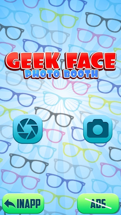 Geek Face Photo Booth: Fun.ny Pic Stickers Editor screenshot-3