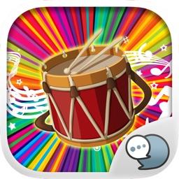 Music Emoji Stickers Keyboard Art Themes ChatStick