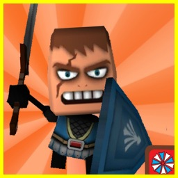3D Pixel Ninja Hero Zombie Fighter for LEGO® Fans