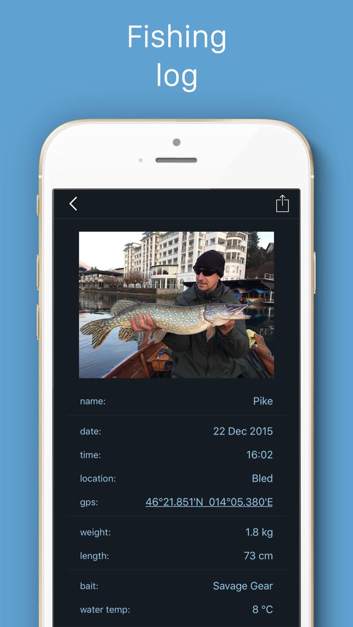 Fishing Calendar LT, best fishing & bite times Screenshot