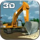 Sand Excavator Crane SIM – Experience Challenges of 3D Construction Crane Operator and Dump Truck Simulator icon