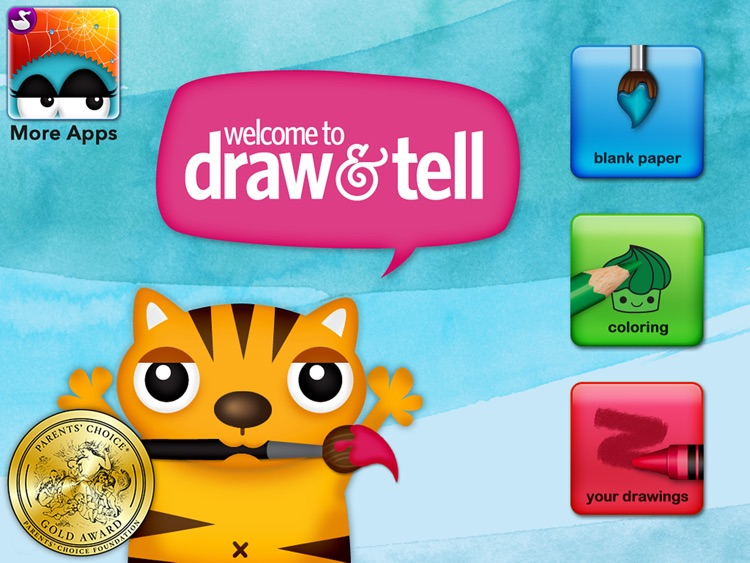Draw and Tell HD - by Duck Duck Moose screenshot-4