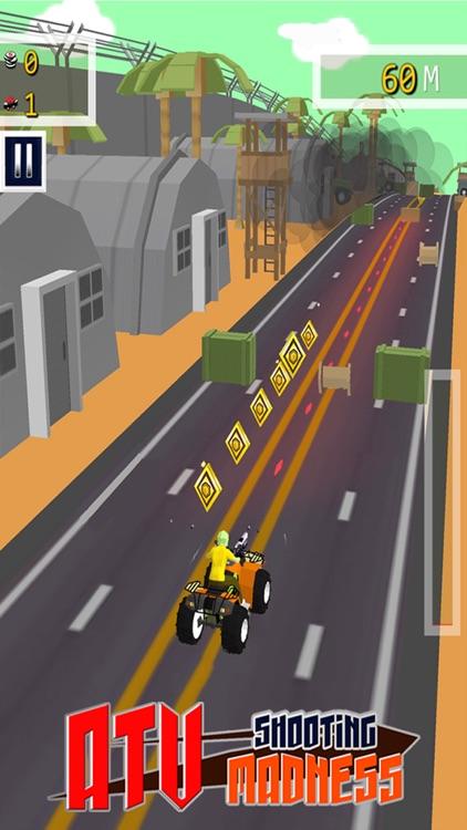 ATV Shooting Madness - Free 3D Adventure Race Game