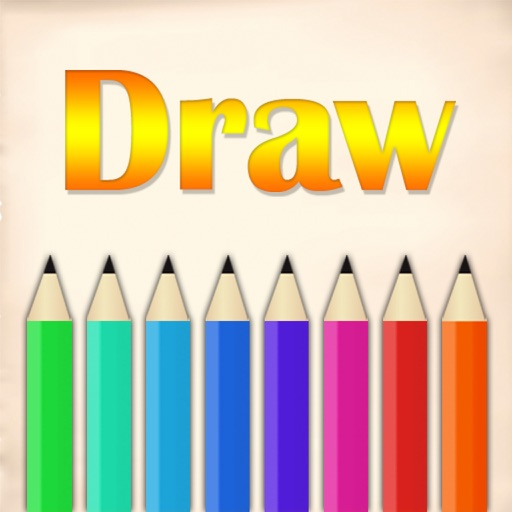 Draw and Daub for color pen, graffiti icon