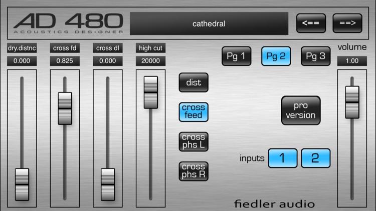 AD 480 basic - Studio Reverb screenshot-3