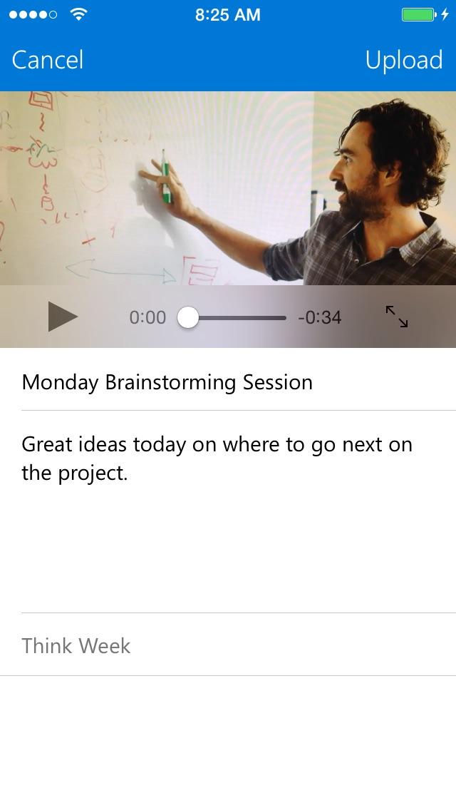 Office 365 ビデオ for iPhoneのスクリーンショット5