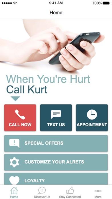 When you are hurt call Kurt screenshot one