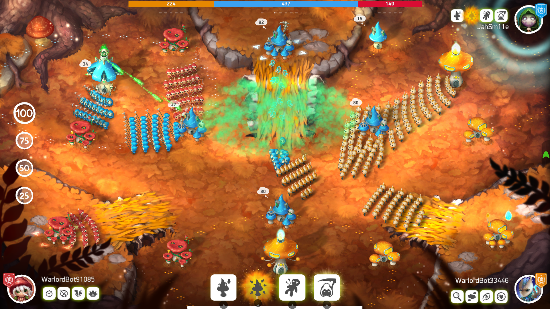 Mushroom Wars 2 - RTS meets TD screenshot 14