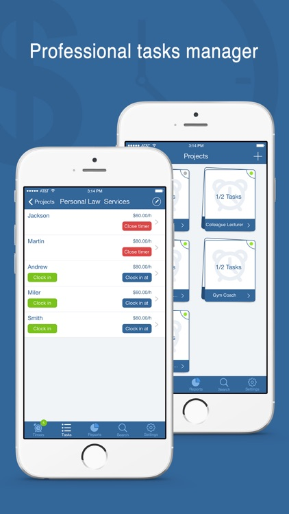 Worktime Tracker Pro - Timesheet & Billing Manager