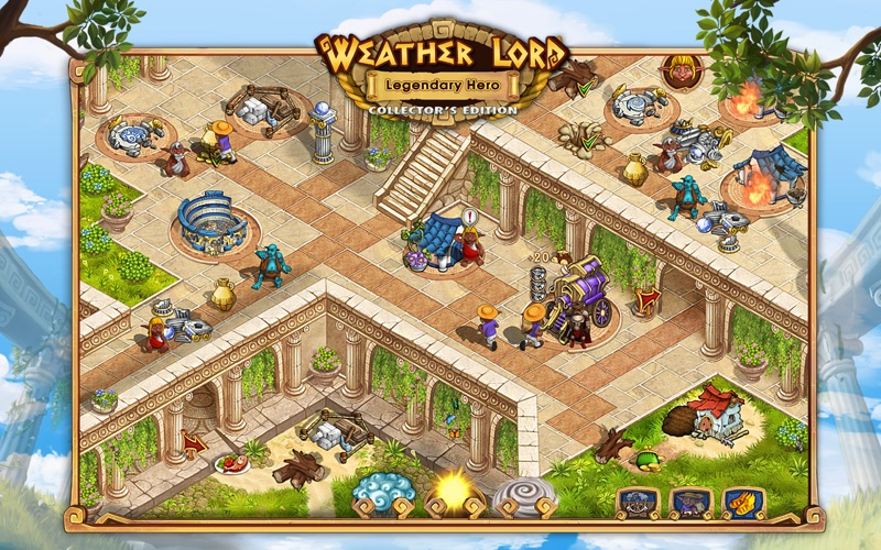 Weather Lord: Legendary Hero Collector's Edition screenshot 2