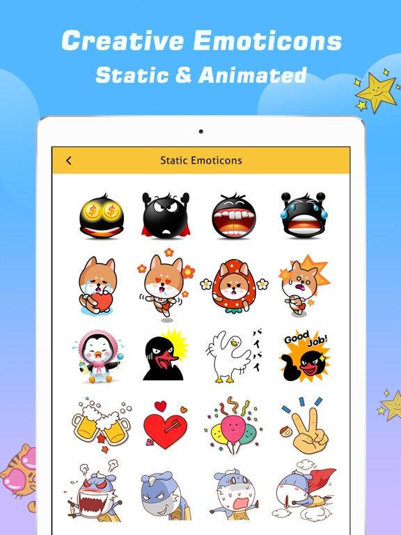 Emoji Free – Emoticons Art and Cool Fonts Keyboard-ipad-2