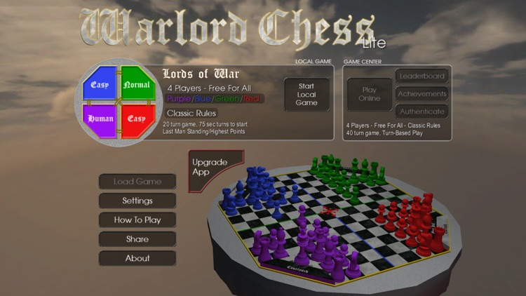 Warlord Chess Lite screenshot-0
