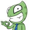 Sneaky Lizard Stickers - iPhoneアプリ