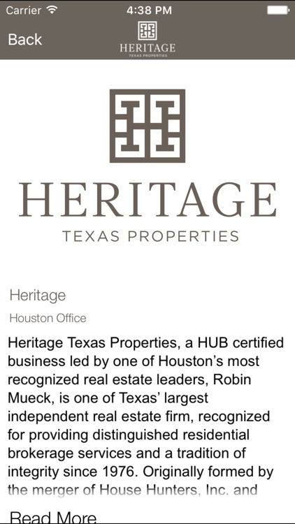 Heritage Texas Home Search screenshot-3