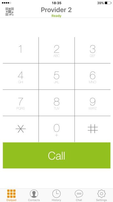 Zoiper Premium voip soft phone Screenshots