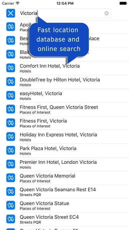 London Super Scale A-Z Street Map screenshot-4