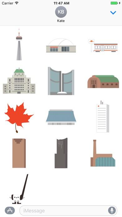 Toronto We The 6ix Sticker Packのスクリーンショット1