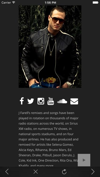 J Farell Music - The Best Remixes & Streaming DJ Music screenshot-3