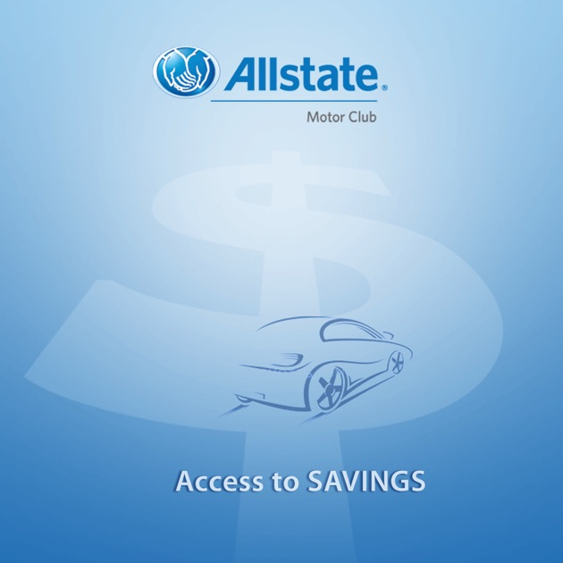 allstate motor club access to savings on the app store