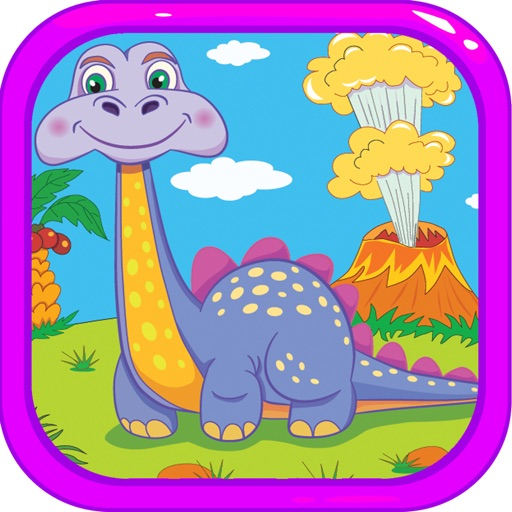Dinosaur Coloring Book - Dino Paint for Kids