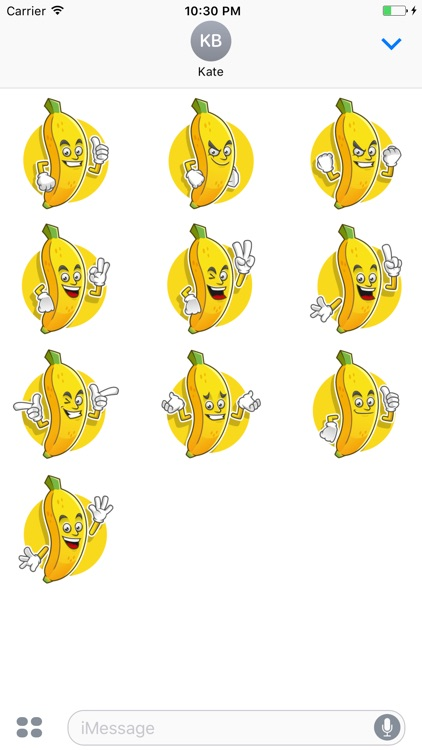 Funny Banana Stickers Vol 02
