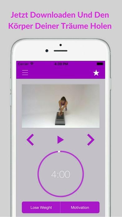 Step Aerobics Workout & Fitness Übungs RoutinenScreenshot von 5