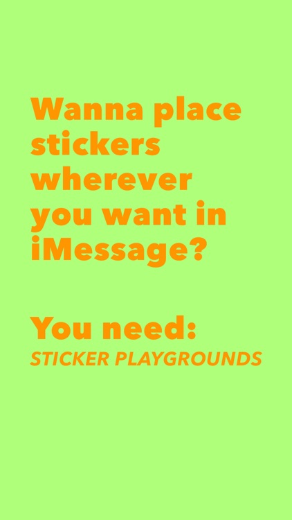 Sticker Playgrounds screenshot-1