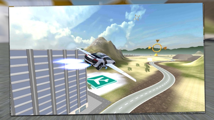 Flying Super Car 2020 screenshot-4