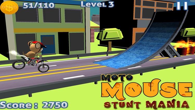 MOTO MOUSE STUNT MANIA - ( 3D DIRT BIKE RACING GAME )