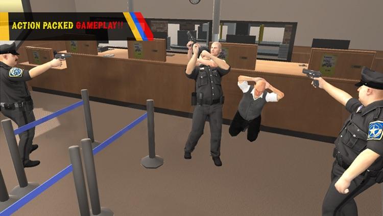Bank Robbery Escape Simulator 2016 - Crime Scene