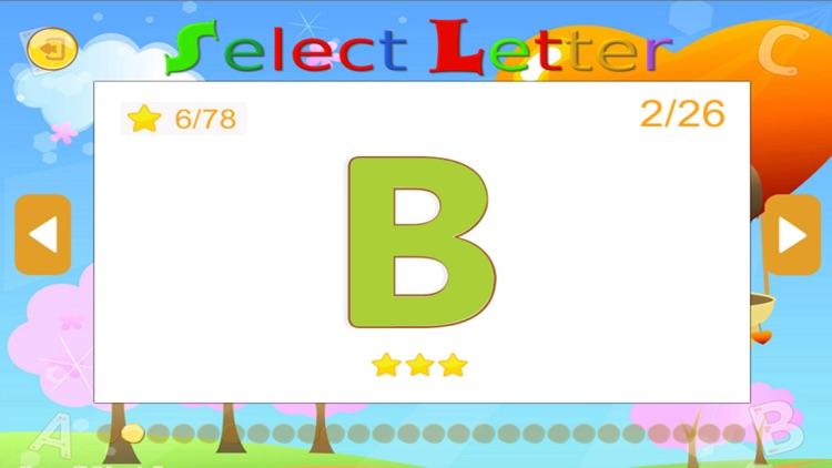 ABC English Alphabet Tracing for boy and girl screenshot-4