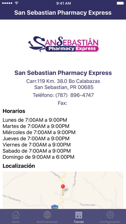 Farmacia San Sebastian Express screenshot-1