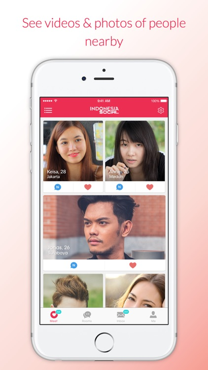 Indonesia Social - Online Dating App for Singles