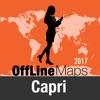 Isla de Capri mapa offline y guía de viaje