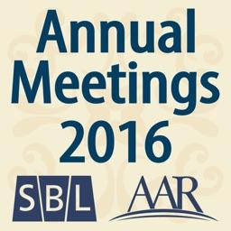 SBL & AAR 2016 Annual Meeting